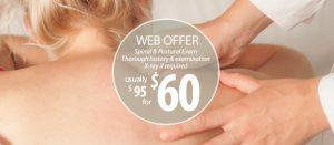 Chiropractor Mt Gravatt - Discount offer on first visit
